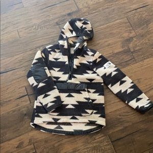 North Face Fleece Hoodie Pullover